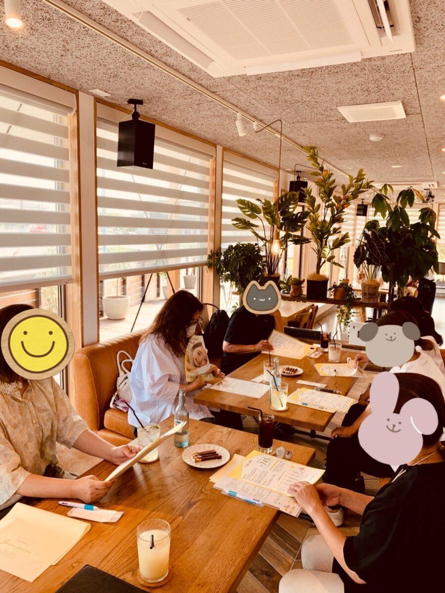 6月のOHANAカフェの様子